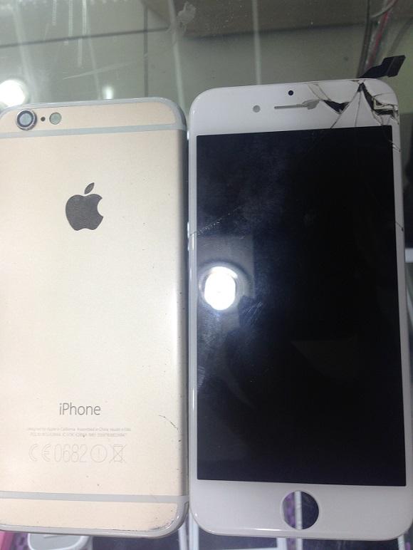 kadıköy cep dünyası iphone 6 kasa değişimi