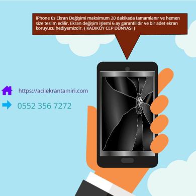 iphone 5 ekran değişimi kadıköy