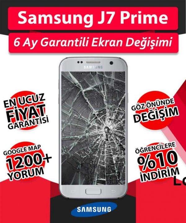 Galaxy J7 Prime Ekran Değişimi