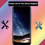 Casper Via G1 Plus ekran değişimi istanbul