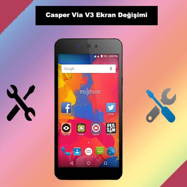 Casper Via V3 ekran değişimi kadıköy