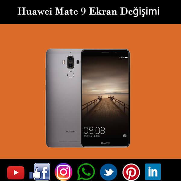 Huawei Mate 9 ekran değişimi istanbul
