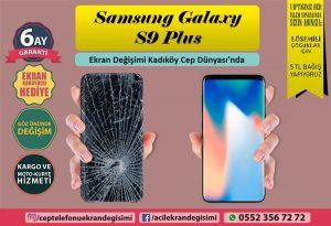 Samsung Galaxy S9 Plus Ekran Değişimi