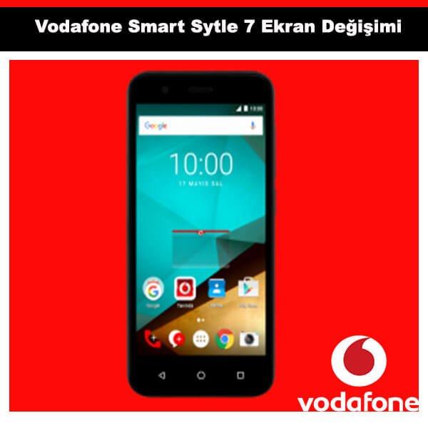 Vodafone Smart Style 7 Ekran Deiimi 189 TL Kadky