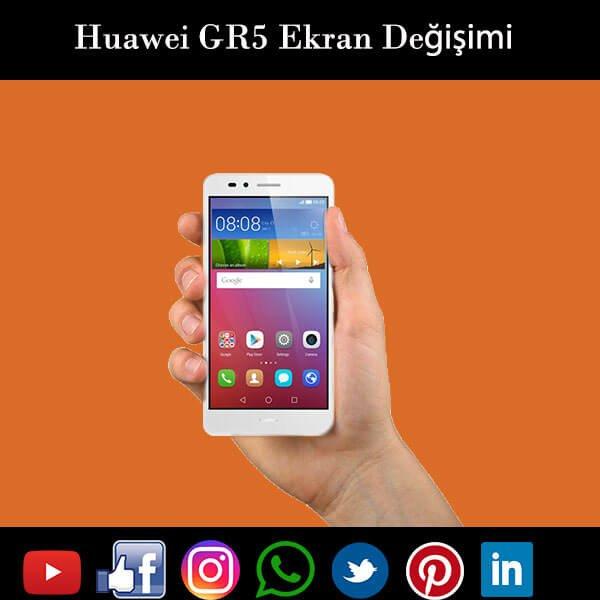 Huawei GR5 ekran değişimi istanbul
