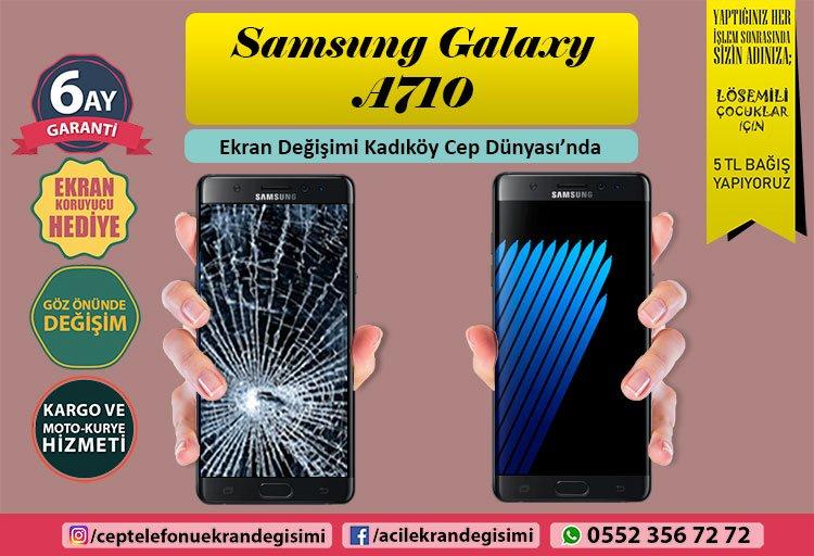 Samsung A710 ekran değişimi