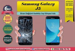 Samsung Galaxy J5 Ekran Değişimi Fiyatı