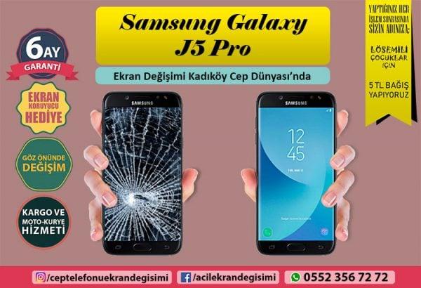 samsungj5 pro ekran değişimi
